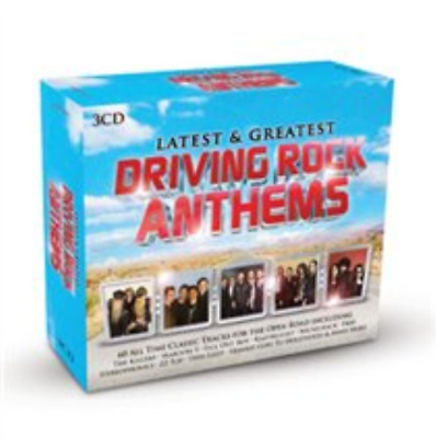 Various Artists-Driving Rock Anthems  (UK IMPORT)  CD / Box Set NEW