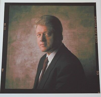 William Jefferson Clinton Archival Presidential Print by William Coupon