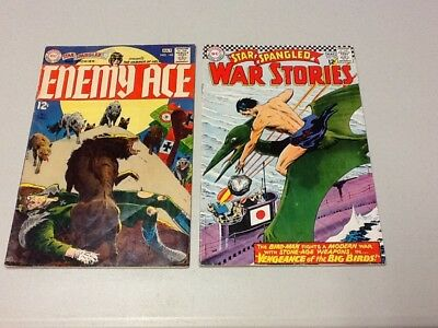 Star Spangled War Stories Comic Lot Of 2 Number 131 & 145