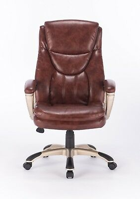 VinMax Big & Tall High Back Executive Chair Heavy duty PU Leather Office Chair