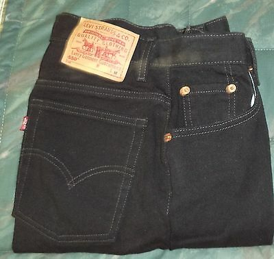 Women's BLACK LEVIS 550 M red tab Relaxed fit Tapered leg