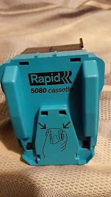 Rapid Heavy Duty Flat Clinch Staple Cartridge - 90220