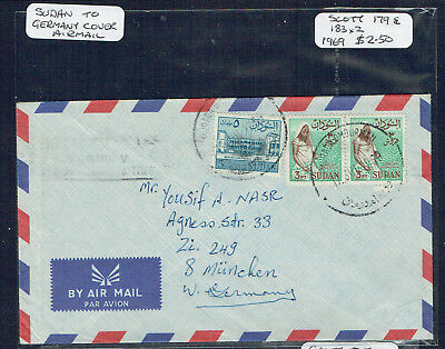 Sudan 1969 Airmail Cover To West Germany - Adressed - Murada Omdurman cds