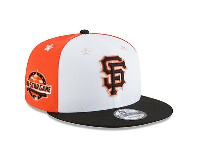 premium selection a113c afc62 San Francisco Giants New Era 2018 MLB All-Star Game 9FIFTY Snapback Hat