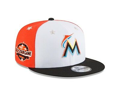 new product 9ba20 18d87 Miami Marlins New Era 2018 MLB All-Star Game 9FIFTY Snapback Hat