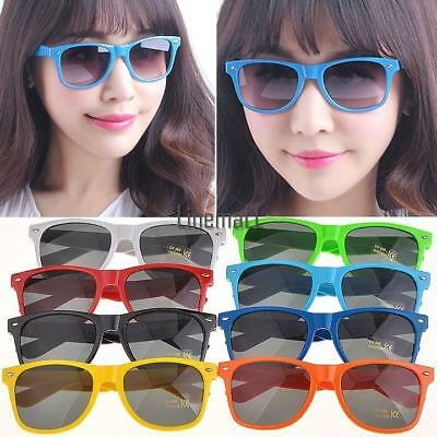 Retro Sunglasses for Women Colorful Frames Glasses Eyewear LM