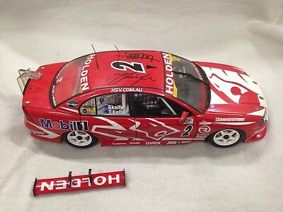 AutoArt Holden VZ Commodore Skaife/Kelly 2005 SCA 1000 Bathurst Winner 1:18