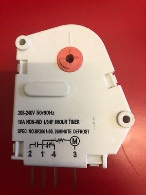 Brand New  Fridge Defrost timer 6Hour/25 M Westinghouse Fisher Paykel 1415435