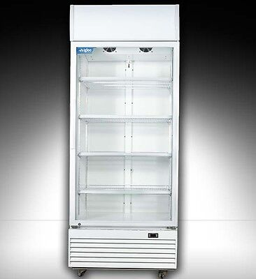 B NEW 540Litre  COMMERCIAL UPRIGHT DISPLAY  FRIDGE