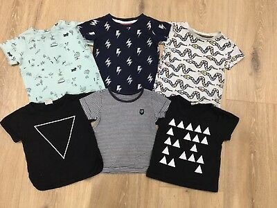 Baby Boys T-shirt Bundle, Size 0, 6-12 months, EUC, Sprout, Cotton on and more!