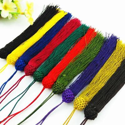 V17 (1,10 pcs)12cm Long tassel   Braid   (use for earring bookmark runner dress)
