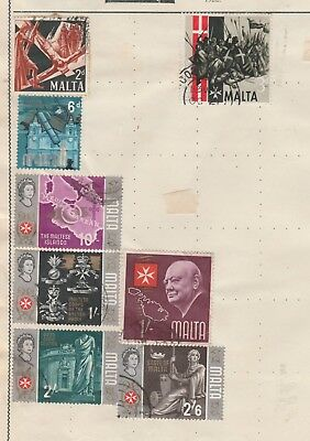 MALTA COLLECTION Army Religion 2/- Council State, etc as per scan, USED #