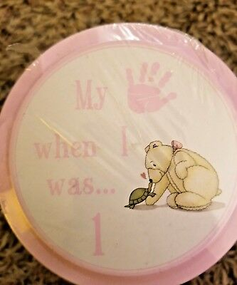 Child to Cherish Handprints Tower Of Time Kit in Pink Easy Plaster 5 Years 1-5