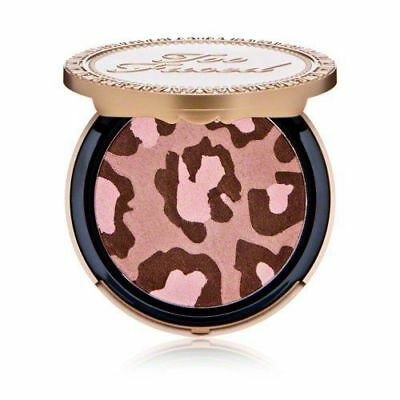 """TOO FACED """"Pink Leopard"""" BLUSHING BRONZER BRAND NEW"""