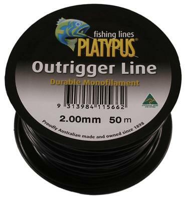Platypus Outrigger Line - 2.00mm 50m BRAND NEW @ Ottos Tackle World