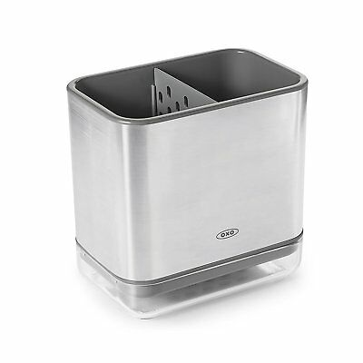 OXO Good Grips Stainless Steel Sinkware Caddy, Silver