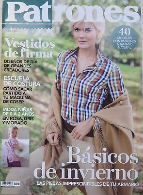 Revista Magazine PATRONES  n 343 sewing sew