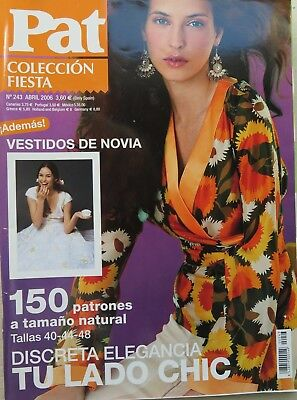 Revista Magazine n 243 PATRONES COLECCION FIESTA  sewing sew