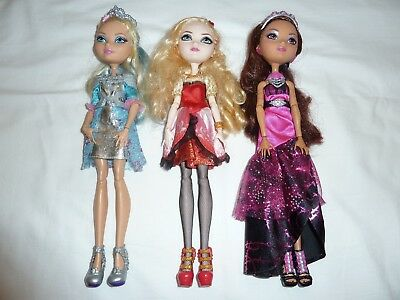 Ever After High dolls bulk - Darling Charming, Apple White & Briar Beauty