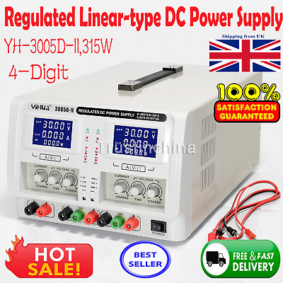 Yh-3005D-Ii 2 Channel Output Adjustable Laboratory Precision Dc Power Supply