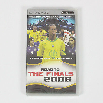 Road to the Finals 2006 UMD for PSP Playstation Portable New/Sealed