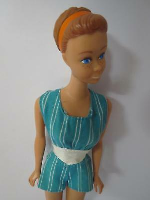 VINTAGE BARBIE MIDGE DOLL 1964 WITH HEADBAND & TITAN PIGTAILS WIG EXCELLENT m64