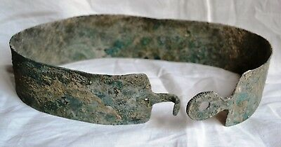 Museum quality Bronze Age Bronze Belt of a Military Commander, Urartu 8-13 c. BC