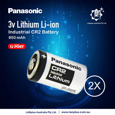 Genuine 2x Panasonic 3V CR2 Lithium Battery CR15H270 CR15270 15270 15266 DLCR2