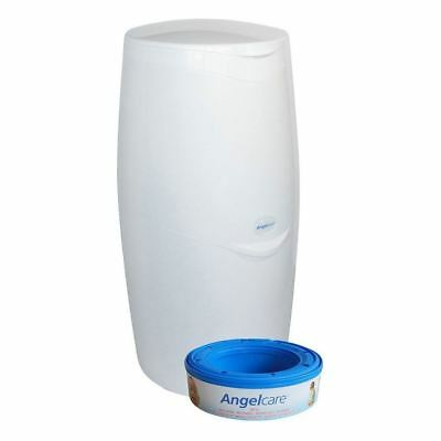 Angelcare Nappy Disposal System White - Pack of 2