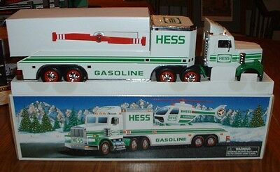 Hess Gasoline '95 Toy Truck and Helicopter