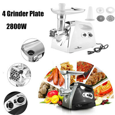 Electric Meat Grinder Sausage Maker Mincer Food Grinding Machine 2800W Luxury HM