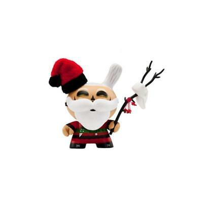 "Dunny The Burglars Santa Barbaja Kidrobot 3""Christmas Vinyl Toy"