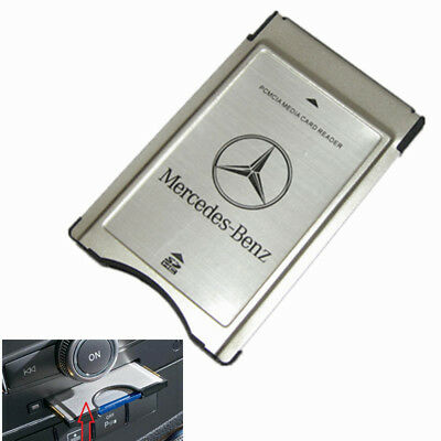 PCMCIA TO SD PC SDHC Adaptateur de Carte Adapter Pour Mercedes Benz C/E Class