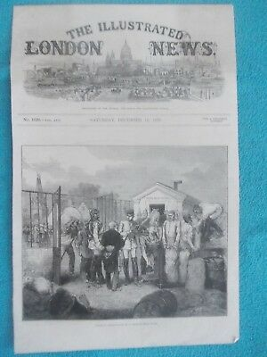1870 The Illustrated London News Title Page Holzschnitt Antique Print #11