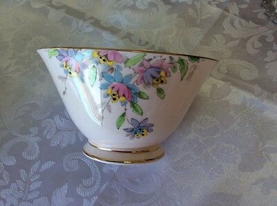 Tuscan Fine Bone China, Pale Pink, Plant, Sugar Bowl
