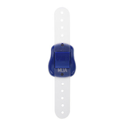 Adjustable Soft Band Royal Blue Housing Resettable Finger Counter Z4A8 R8