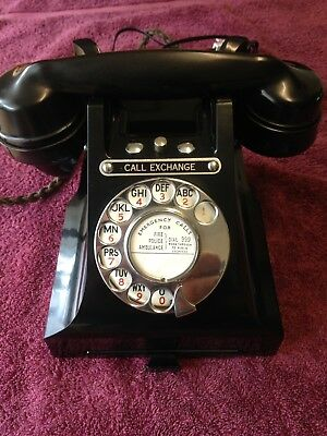 Gpo Bakelite 332L Call Exchange Telephone From 1958 Exultant Condition