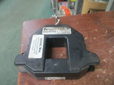 Veris Current Transformer H6810-200A-5A Ratio: 200:5A 600V 50/60Hz Used
