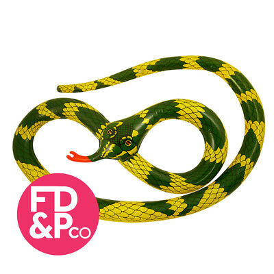 Inflatable Snake 230cm Blow up Toy Jungle Animal Fun Accessory