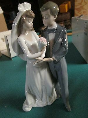 Lladro From This Day Forward Wedding Couple 05885