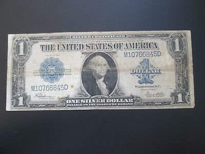 1923 $1 Large Note Silver Certificate Circulated  M10766845D