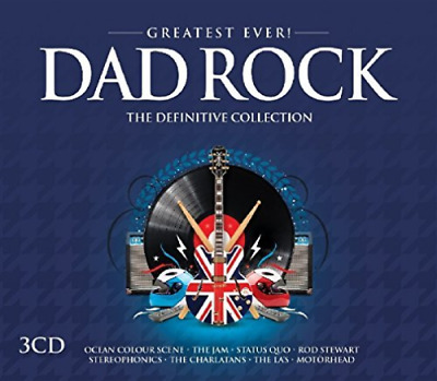 Various Artists-Greatest Ever Dad Rock  (UK IMPORT)  CD NEW