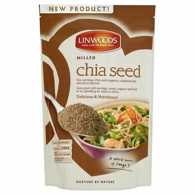Linwoods Milled Chia Seed 200g - Pack of 2