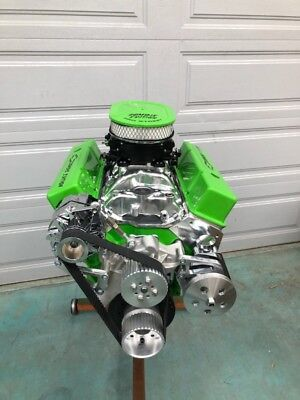 383 Stroker Motor 503Hp Roller Crate Engine Turnkey  With Efi Any Color Sbc