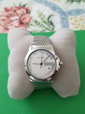 a797d4351a1 GUCCI UNISEX YA126317 G-Timeless Stainless Steel Watch -  724.93 ...