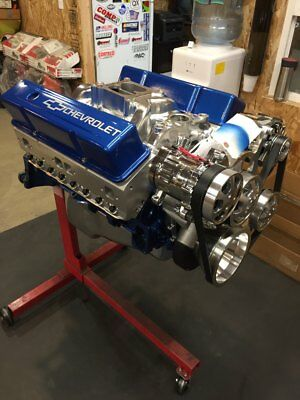 383 EFI Crate Engine STROKER MOTOR 525hp A/C ROLLER chevy TURN KEY See My Store
