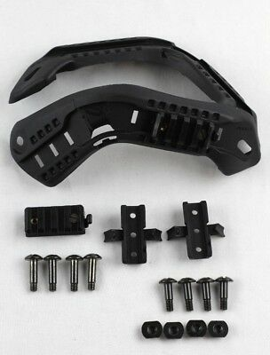 Ops Core 2010 ACH-ARC Kit Without Bungees Black, 25-99-303