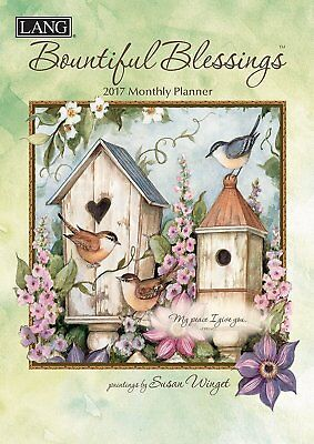 Lang 2017 Bountiful Blessings Monthly Planner, 8.5 x 12 inches 17991012096