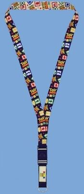 Toy Story Land Disney Parks Opening Day Pin Trading Lanyard NEW