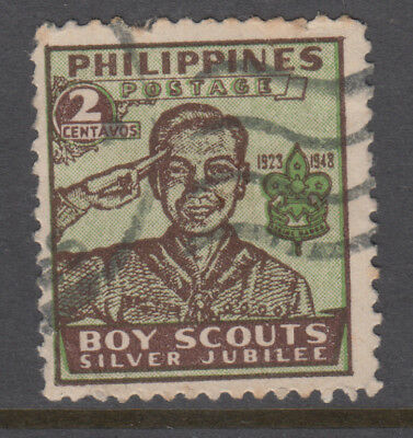 PHILLIPINES 1948 Scouts 2c USED